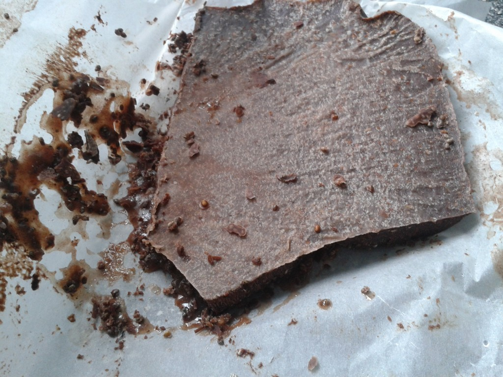 Slight failed attempt at chocolate - still edible but not perfect...