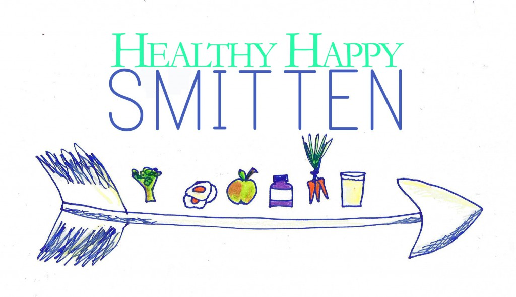 Happy Healthy Smitten illustration copy