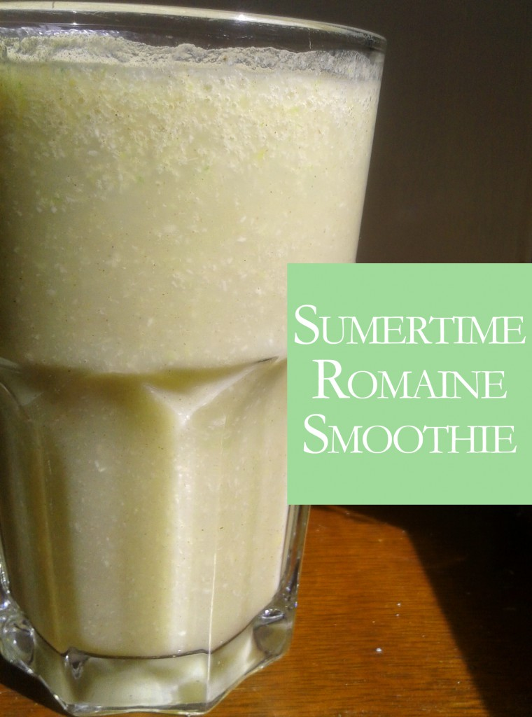 summertime romaine smoothie