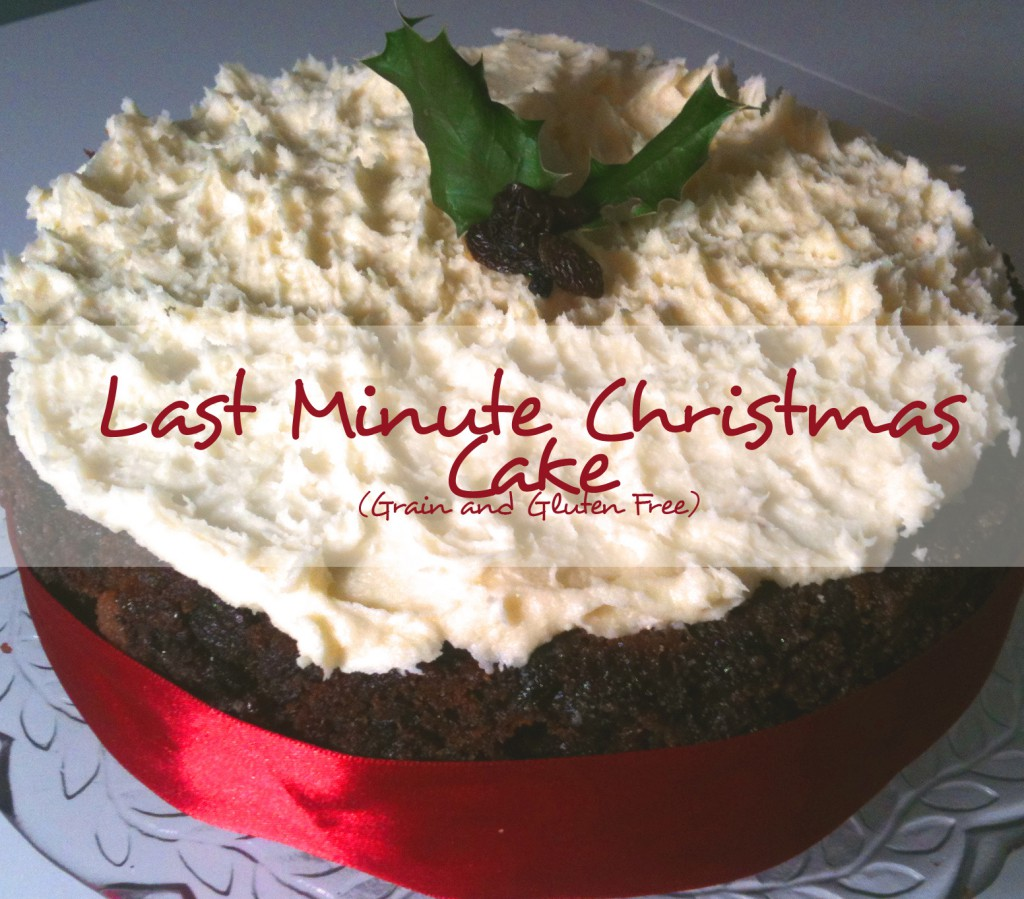 Cc 13 Last Minute Christmas Cake Super Naturally Healthy Super