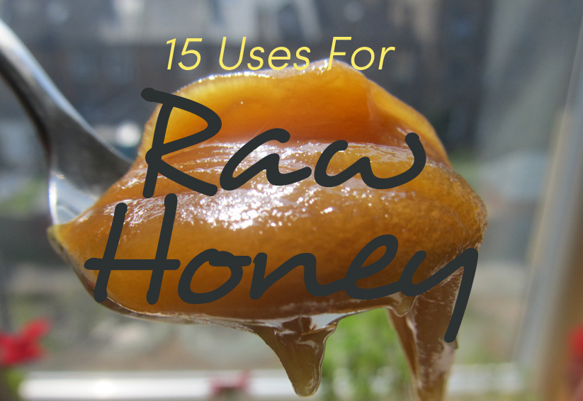 raw honey uses