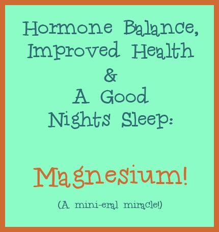 magnesium and hormones