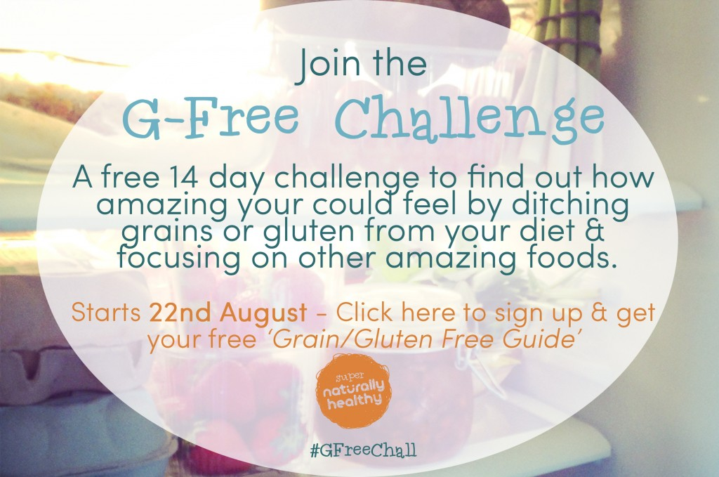 The G-Free Challenge: Your Free 14 Day Challenge to Super Natural Health