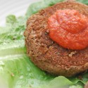 Vegetarian Falafel Burgers with Tomato Sauce