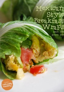 Mexican Style Breakfast Wraps