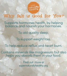 Why Salt is Good for You