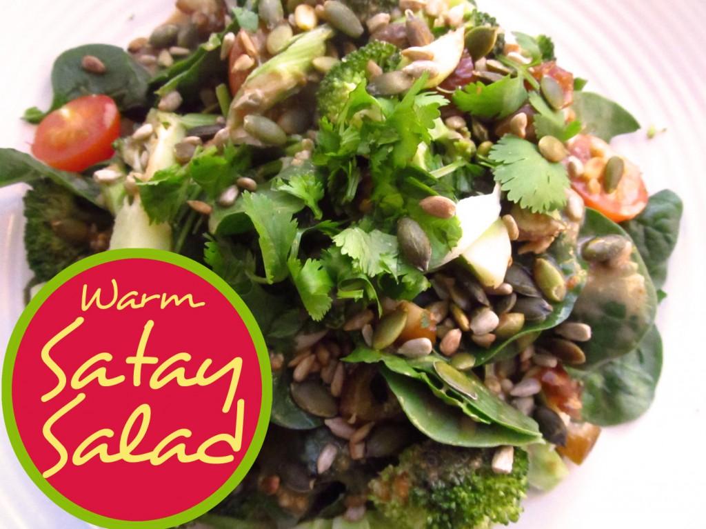 Warm Satay Salad