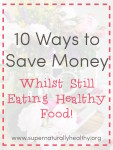 10 way to save money