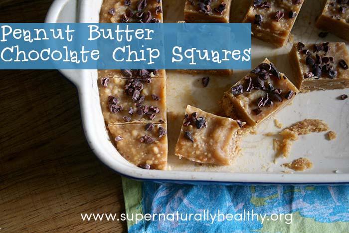 peanut butter squares landscape