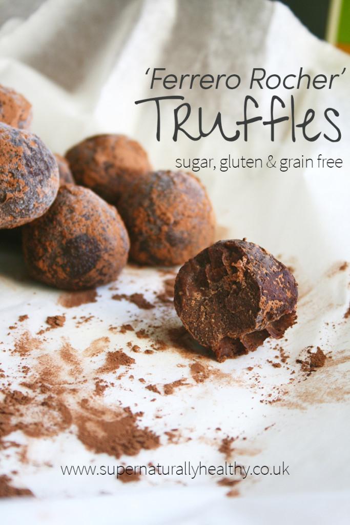 'Ferrero-Rocher'-Truffles