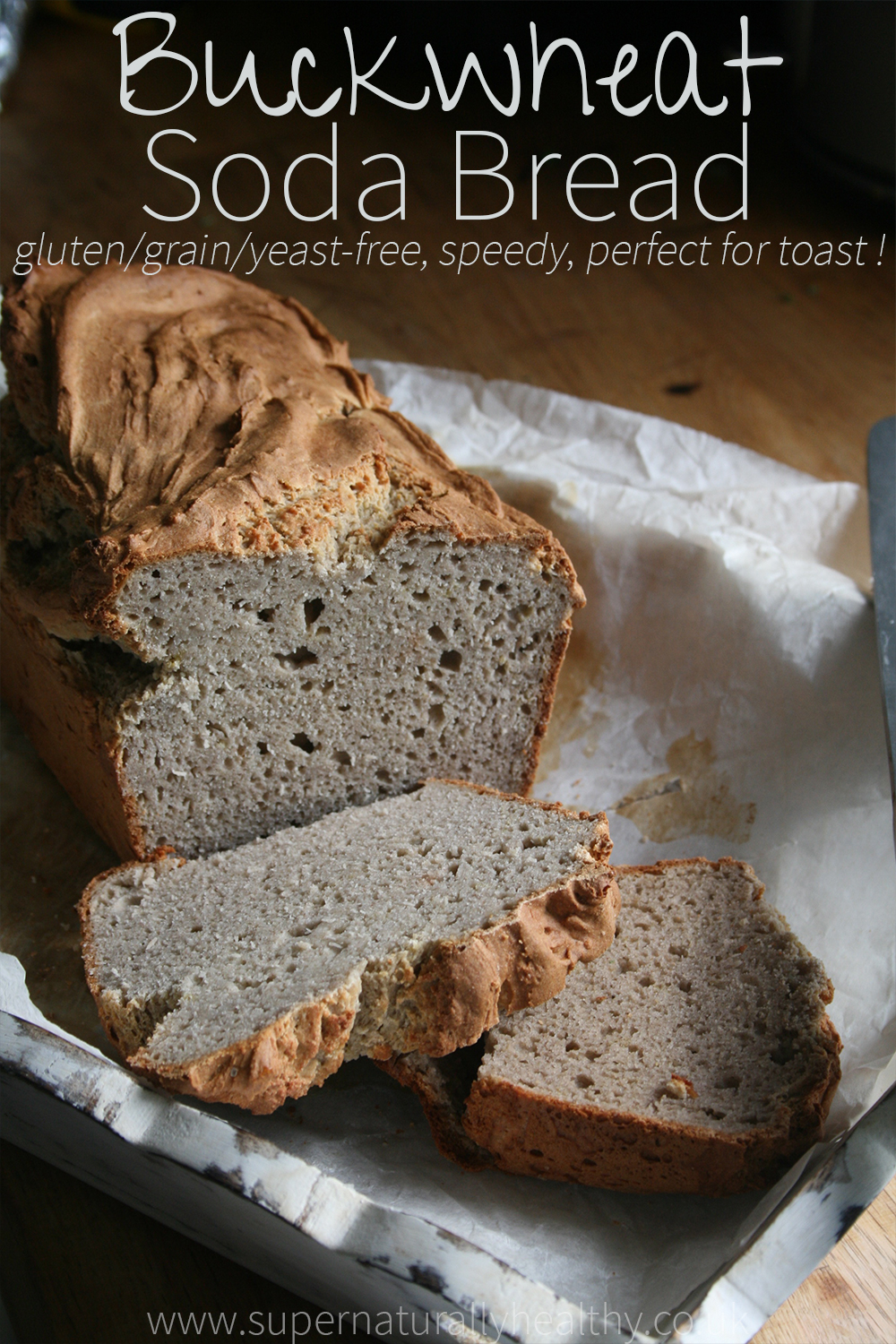 Buckwheat Soda Bread Gluten Grain Free