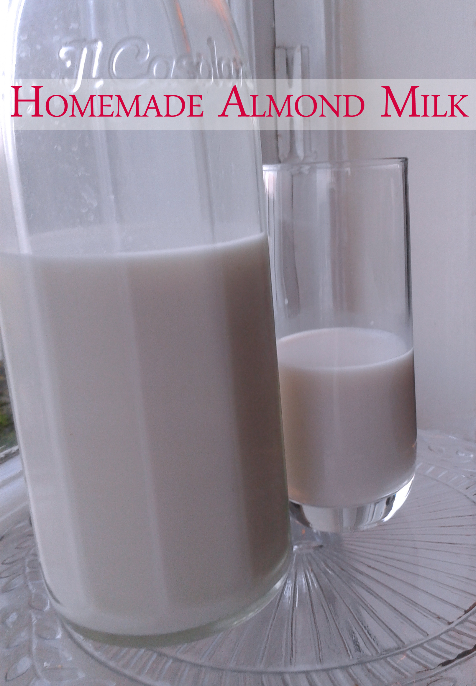 Almond milk - Super Naturally Healthy | Super Naturally ...