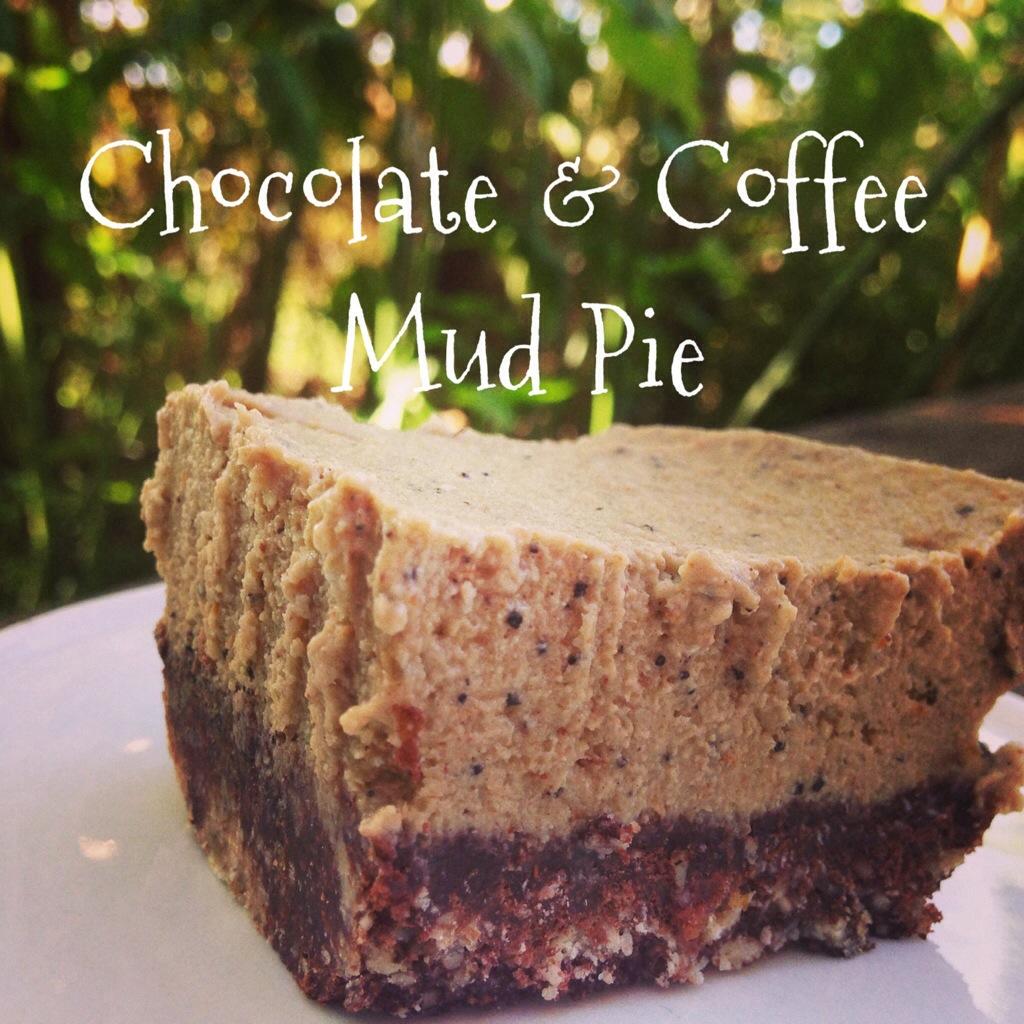 Chocolate Amp Coffee Mud Pie Raw Gluten Grain Dairy Free
