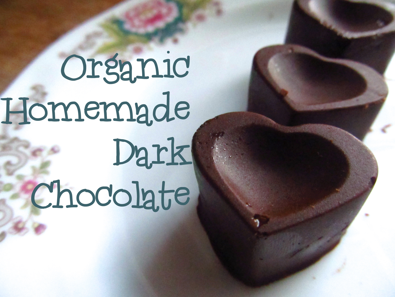 Homemade Organic Dark Chocolate - Super Naturally Healthy   Super ...