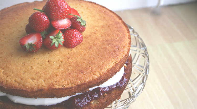 Gluten And Dairy Free Sponge Cake Recipe