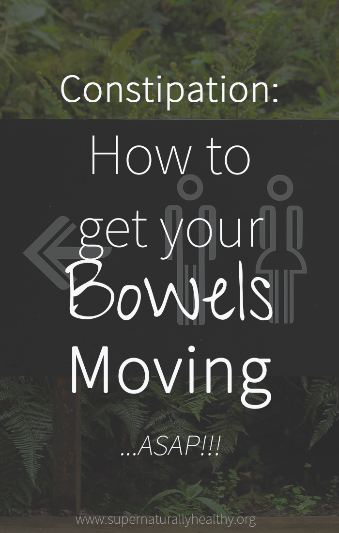 how to get bowels moving